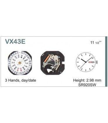 Mecanisme montre Ref SEIKO VX43