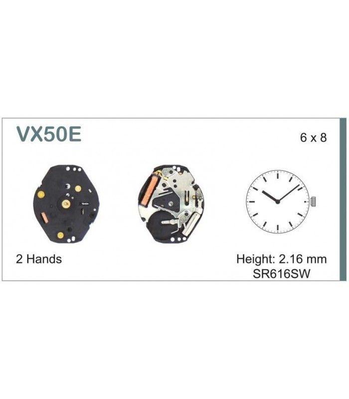 Movement for watches, HATTORI VX50