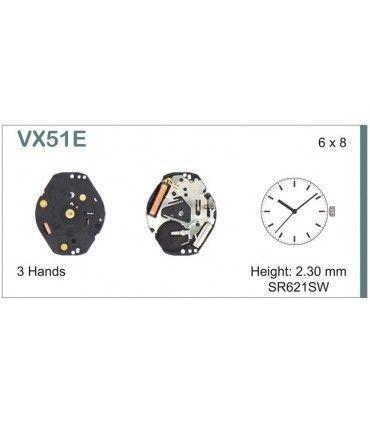Maquinaria de reloj Ref SEIKO VX51