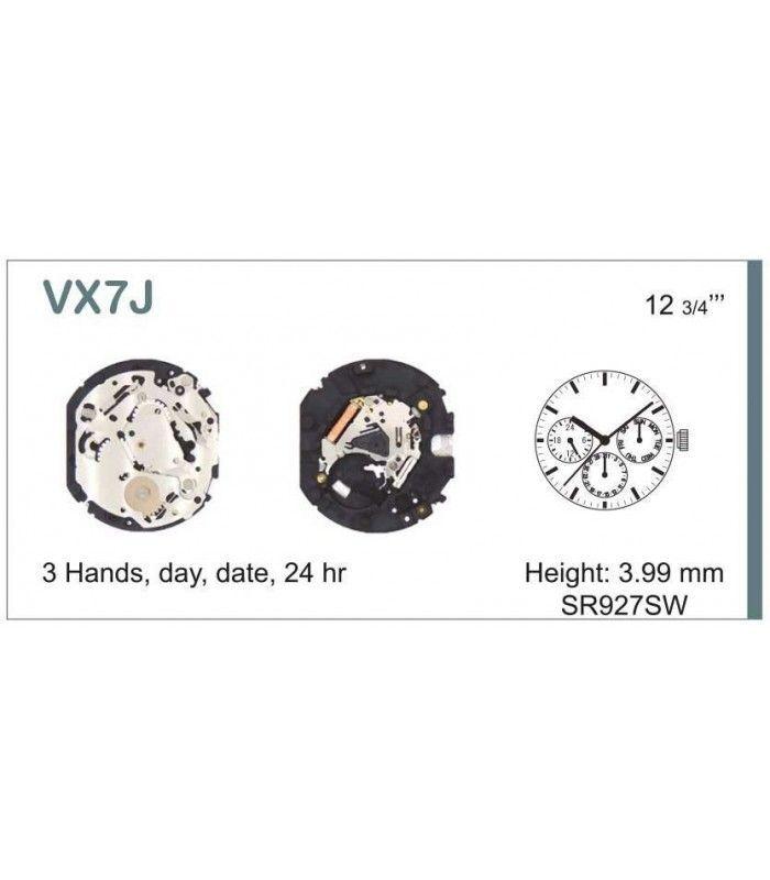 Maquina de relogio Ref SEIKO VX7J
