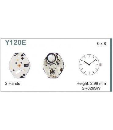 Maquinaria de reloj Ref SEIKO Y120
