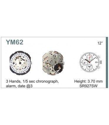 Maquinaria de reloj Ref SEIKO YM62