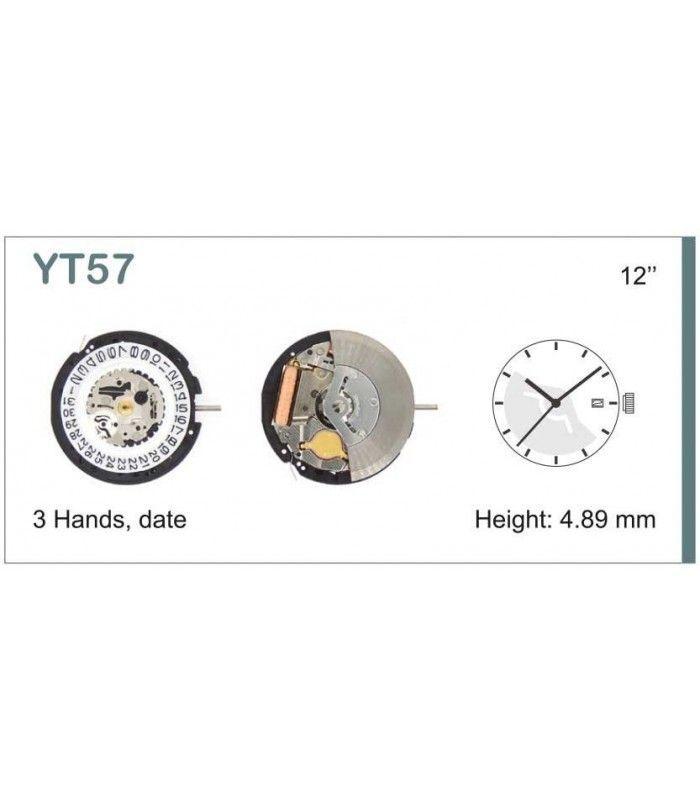 Uhrwerke, HATTORI YT57