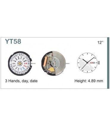 Mecanisme montre Ref SEIKO YT58