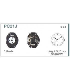 Maquinaria de reloj Ref SEIKO C21J