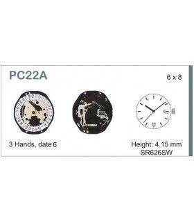 Uhrwerke Ref SEIKO 22D6