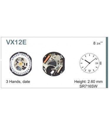 Meccanismo Orologio Ref SEIKO 12D6