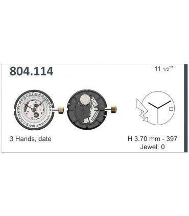 Meccanismo Orologio Ref ETA804114