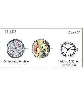 Uhrwerke, MIYOTA 1L02