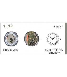 Uhrwerke, MIYOTA 1L12