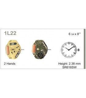 Máquina o movimiento para reloj MIYOTA1L22