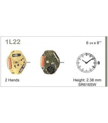 Meccanismo Orologio Ref MIYOTA 1L22