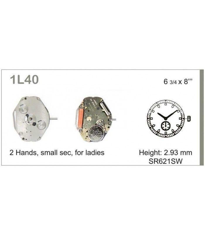 vements de montre, MIYOTA 1L40
