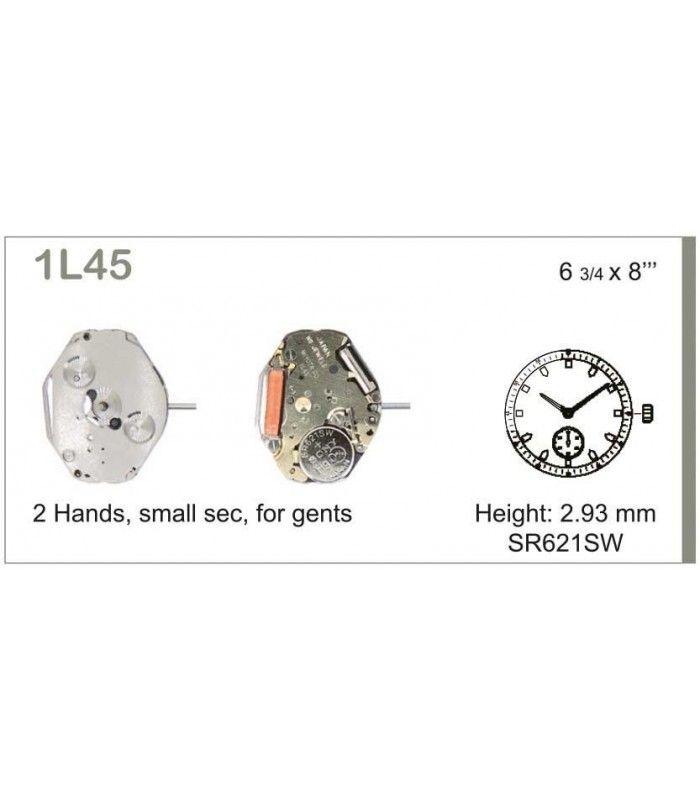 vements de montre, MIYOTA 1L45