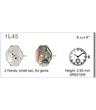 Maquinaria de reloj Ref MIYOTA 1L45