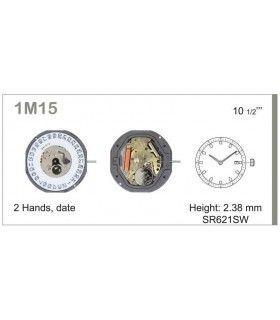 Maquina de relogio Ref MIYOTA 1M15