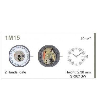 Maquinaria de reloj Ref MIYOTA 1M15