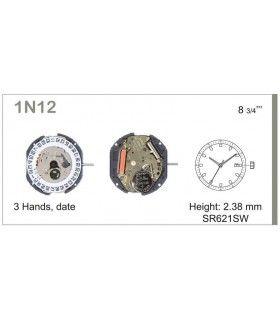 Mecanisme montre Ref MIYOTA 1N12