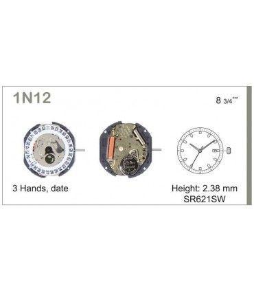 Maquina de relogio Ref MIYOTA 1N12