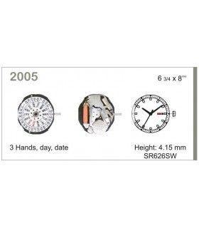 Maquinaria de reloj Ref MIYOTA 2005