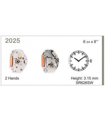 Maquina de relogio Ref MIYOTA 2025