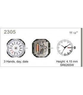vements de montre, MIYOTA 2305