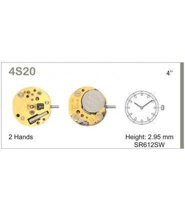 Maquinaria de reloj Ref MIYOTA 4S20