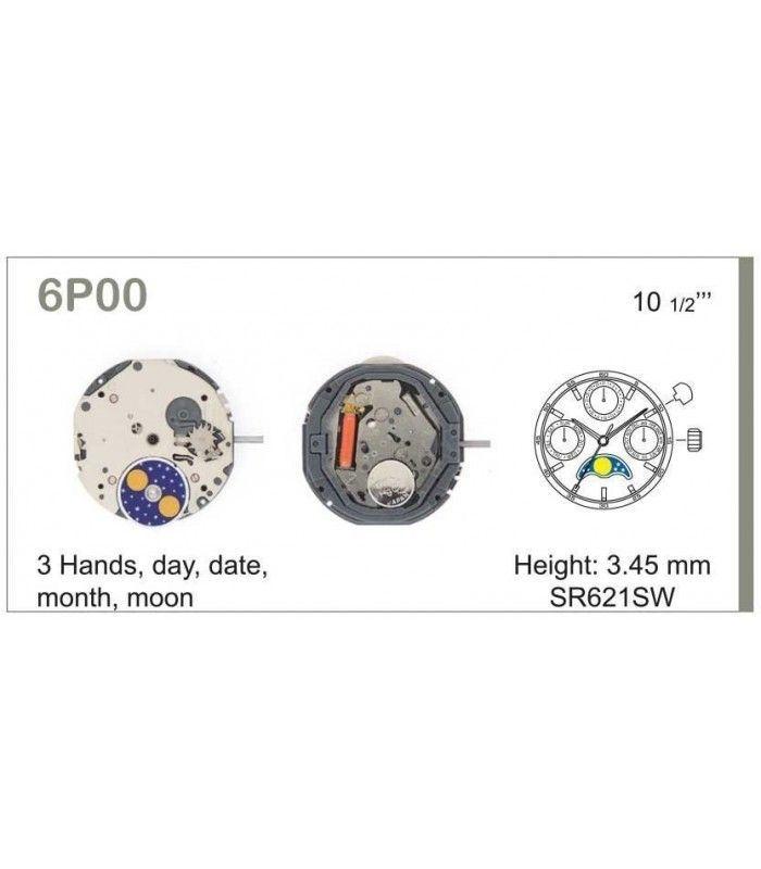 Uhrwerke, MIYOTA 6P00