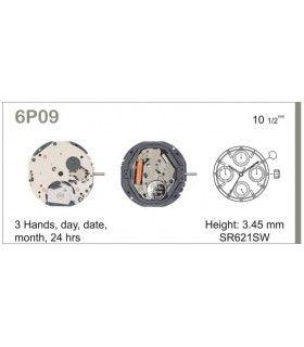 vements de montre, MIYOTA 6P09