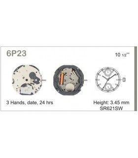 Uhrwerke, MIYOTA 6P23