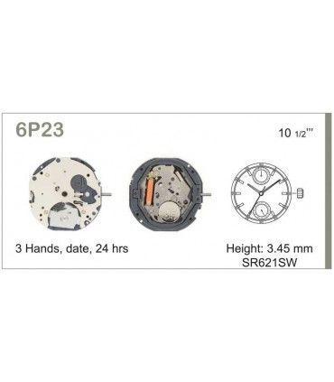 Maquina de relogio Ref MIYOTA 6P23