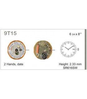 Máquina o movimiento para reloj MIYOTA 9T15