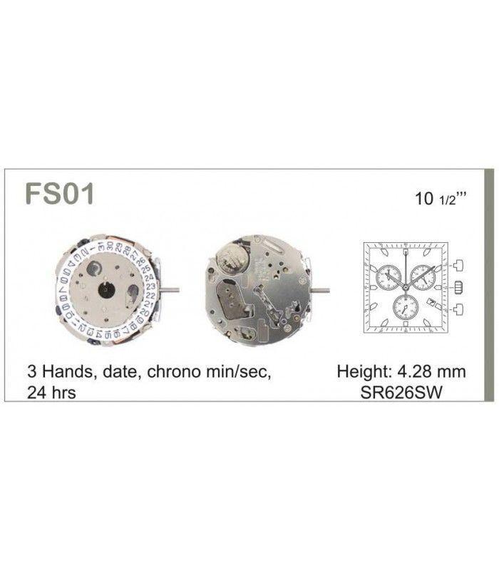 Uhrwerke, MIYOTA FS01