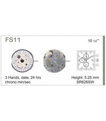Uhrwerke Ref MIYOTA FS11
