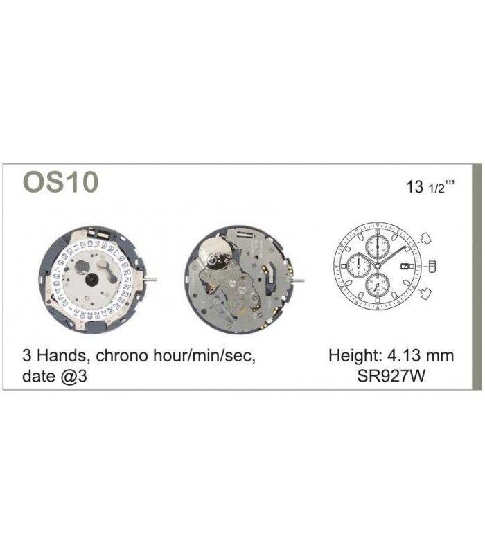 Máquina o movimiento para reloj MIYOTA OS10