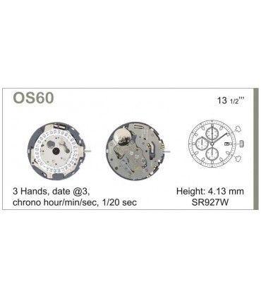 Maquinaria de reloj Ref MIYOTA OS60