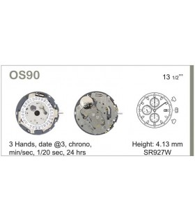 Mecanisme montre Ref MIYOTA OS90