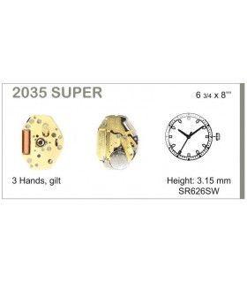 Mecanisme montre Ref MIYOTA 2035S