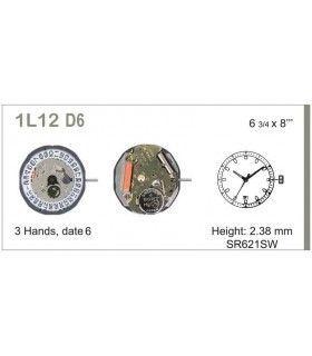 Mecanisme montre Ref MIYOTA L12D6