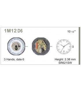 Meccanismo Orologio Ref MIYOTA M12D6