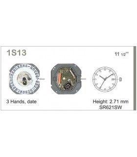 Maquinaria de reloj Ref MIYOTA S13D3