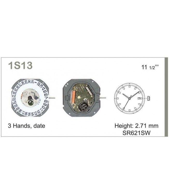 Máquina o movimiento para reloj MIYOTA 1S13D3