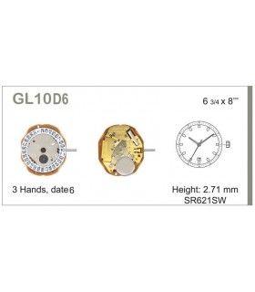 Meccanismo Orologio Ref MIYOTA L10D6