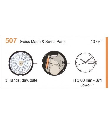 Watch Movement RONDA 507
