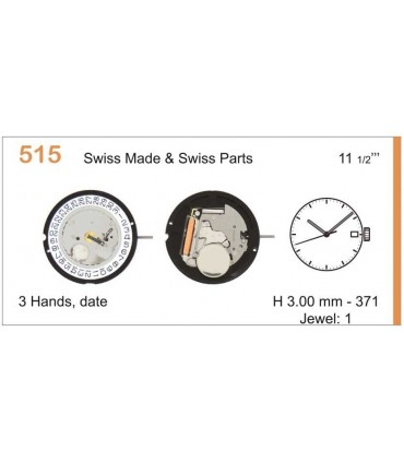 Mecanisme montre Ref RONDA 515