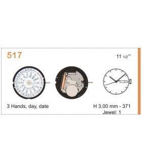 Meccanismo Orologio Ref RONDA 517