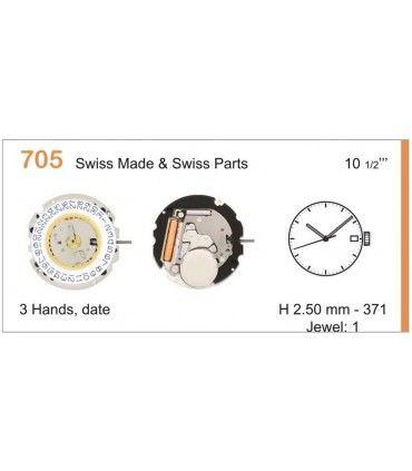 Maquinaria de reloj Ref RONDA 705