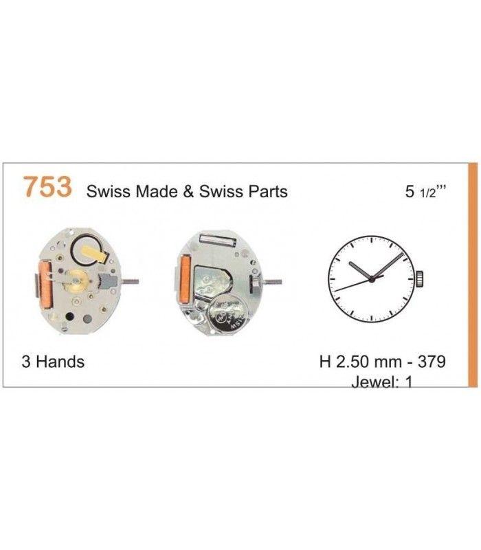 Uhrwerke, RONDA 753