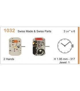 Máquina o movimiento para reloj RONDA 1032