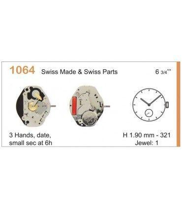 Maquinaria de reloj Ref RONDA 1064